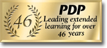 PDP, leading extended learning for over 35 years