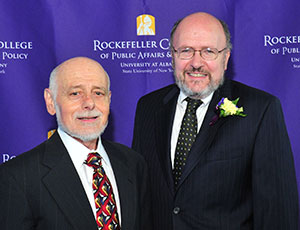 Eugene Monaco and Dr. Philip McCallion