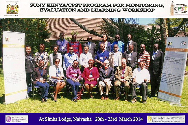 SUNY/Kenya group photo